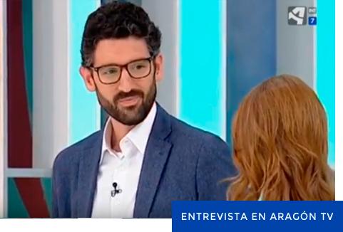 Diego Muñoz Fumanal en Aragón TV